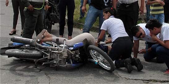 Se dispara accidentalidad en moto en Villavicencio