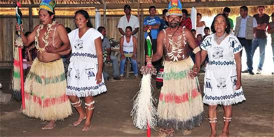 Comunidad Uitoto residente en Villavo pide mayor atención