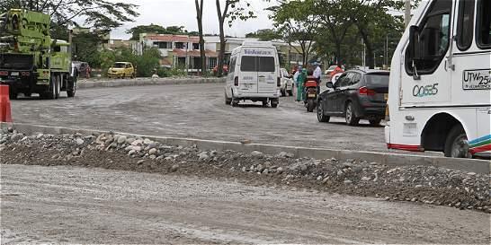 Pavimentan el último tramo del anillo vial en Villavicencio