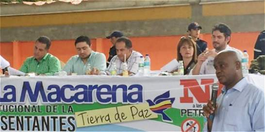 En La Macarena sigue preocupación por sus recursos naturales