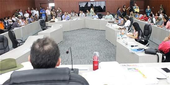 Inició trámite del Plan de Desarrollo en la Asamblea del Meta