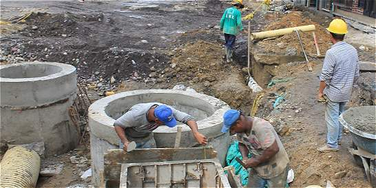 Inconformismo en el barrio Popular por paquete de obras en ejecución