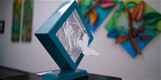 Roa Iregui lleva su trabajo pictórico a objetos de uso cotidiano