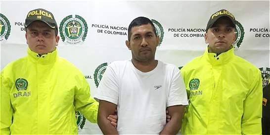 Capturan a 'Navarro', jefe del clan del Golfo en San José del Guaviare