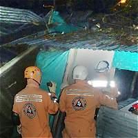 Tormentas causaron estragos en Villavicencio