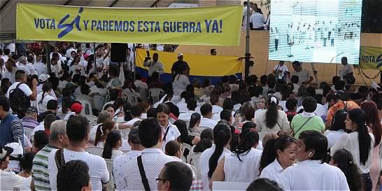 Villavo: con alegría y expectativa se dio bienvenida a Acuerdo Final