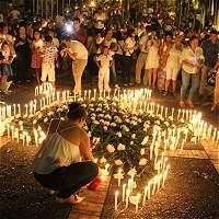 400 jóvenes universitarios de Villavicencio marcharon por la paz