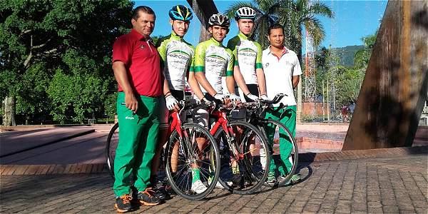 Tres ciclistas del Meta competirán desde hoy en la 'Vuelta a Colombia' juvenil.