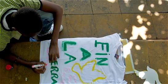 Las Farc aceptan invitación de jóvenes a hacer vigilia por la paz