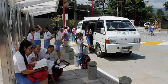 Estrenan sendero escolar en Villavicencio