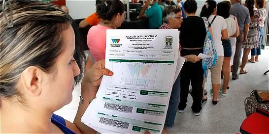 Salvavidas  a los morosos de los impuestos en Villavicencio