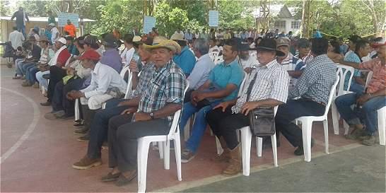Campesinos de La Macarena, listos para iniciar paro