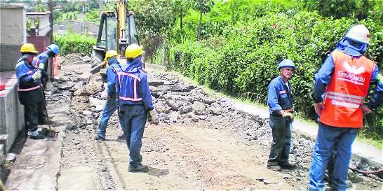 Arrancan obras para recuperar las vías de Envigado