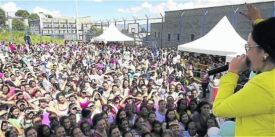 Reclusas de El Pedregal celebraron fiesta en homenaje a la patrona