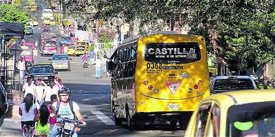 Triángulo del delito en el norte de Medellín