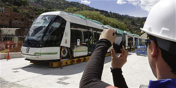 El tranvía empezaría pruebas en octubre.