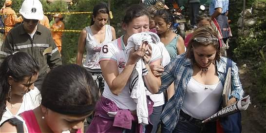 Zona de tragedia de Amagá fue declarada de calamidad pública