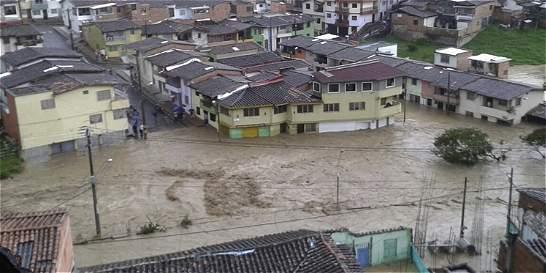Drama en Donmatías (Antioquia) por fuertes aguaceros