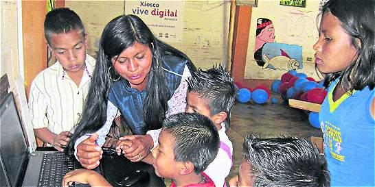 Indígenas del Suroeste antioqueño tienen un Kiosko Vive Digital