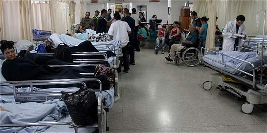 Familiares abandonaron paciente en Hospital U. San Vicente Fundación