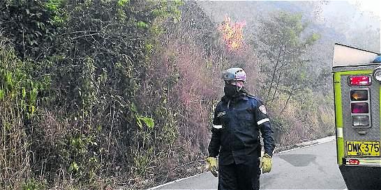 Hay alerta roja por incendios en Antioquia