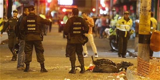 Homicidios se reducen un 43 por ciento en la capital antioqueña