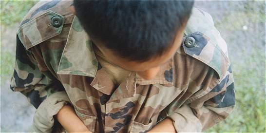 Ejército dice que las Farc reclutaron a siete niños en Antioquia