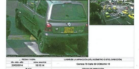 Denuncian fotomultas 'injustas' en Medellín
