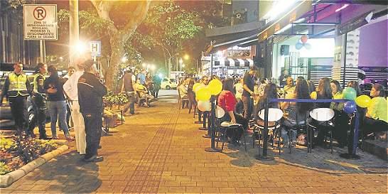 Inseguridad, rumba y drogas rondan la carrera 70 de Medellín