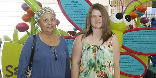 En Medellín regalaron cabello y esperanza, a mujeres con cáncer