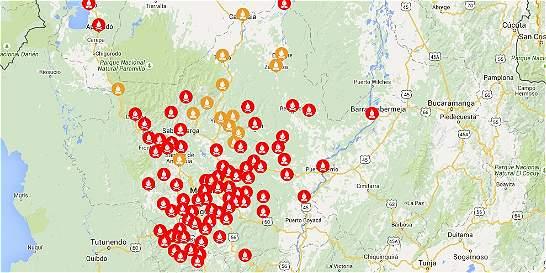 Aumentan a 101 los municipios en alerta roja por posibles incendios