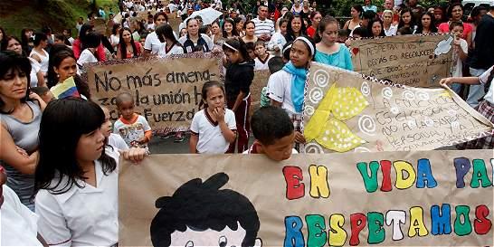 Trece profesores amenazados en el último mes en Medellín