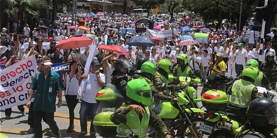 La salud se tomó las calles de Medellín