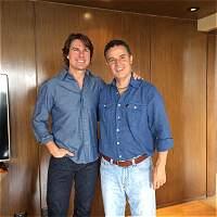 Alcalde de Medellín se reunió con Tom Cruise