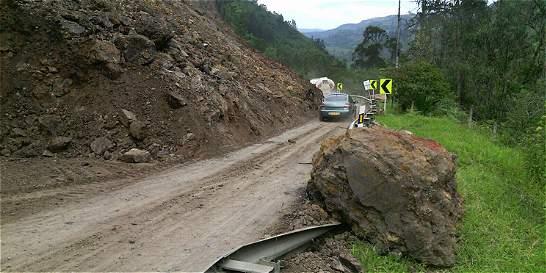 Alerta en 20 municipios de Antioquia por riesgo de deslizamientos