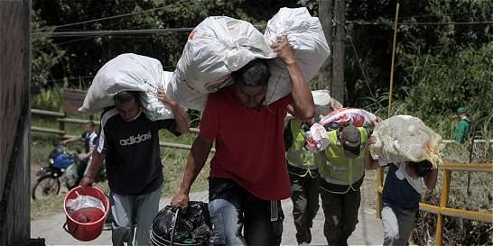 Cifra de desplazados aumentó 29% en Medellín
