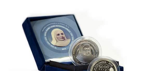 Hoy entregan en Jericó la moneda de la Santa Madre Laura