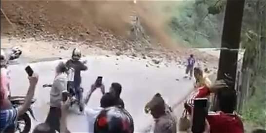 Encuentran cuerpos de los trabajadores atrapados en derrumbe en Amagá