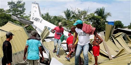 Dos personas murieron en accidente aéreo en Chocó