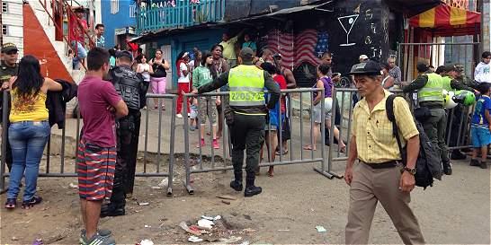 Disturbios por desalojo de 38 familias de barrio de Medellín