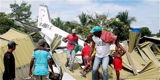 Continúan investigaciones de avioneta accidentada en Acandí (Chocó)