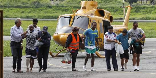 Cinco sobrevivientes del accidente aéreo de Acandí llegaron a Medellín