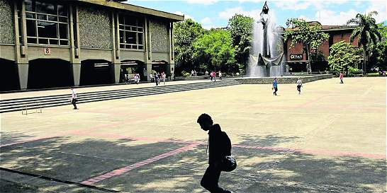 Estudiantes de la Universidad de Antioquia mantienen el paro