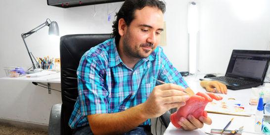 En Medellín hacen las prótesis mucho más reales