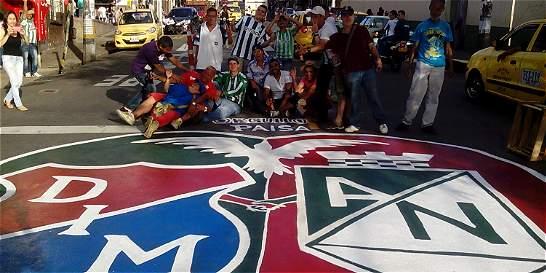 En paz transcurrió el clásico entre Medellín y Nacional