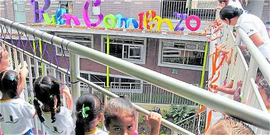 Buen Comienzo en Medellín avanza en cuidado de los niños