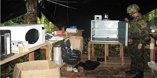 Ejército destruye seis laboratorios de cocaína del ELN