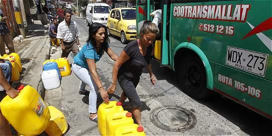 Por fenómeno del Niño hay racionamiento de agua en Medellín