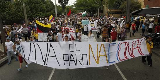 Medellín se hizo sentir en la marcha de protesta nacional