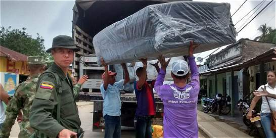 Comisión internacional analiza retorno de desplazados en Antioquia